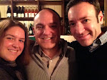 Amy, me and Larry @ Marlow & Sons