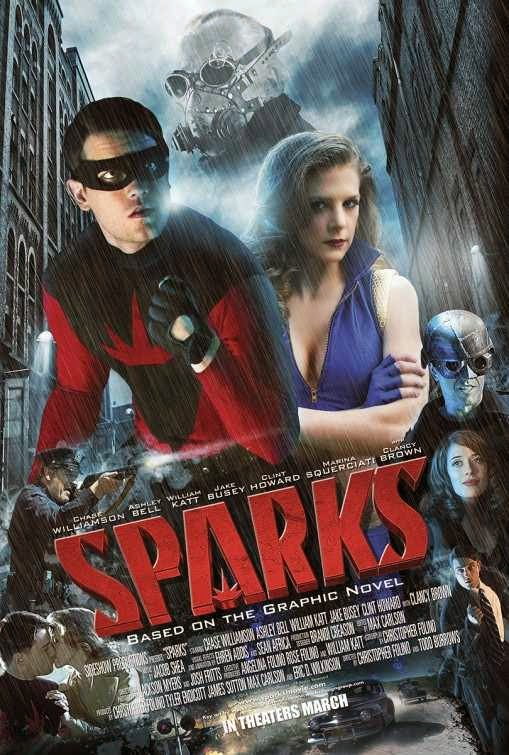 Poster Of English Movie Sparks (2013) Free Download Full New Hollywood Movie Watch Online At alldownloads4u.com