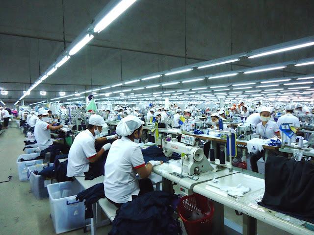 Đơn hàng may mặc cần 20 nữ làm việc tại Iwate Nhật Bản tháng 12/2017