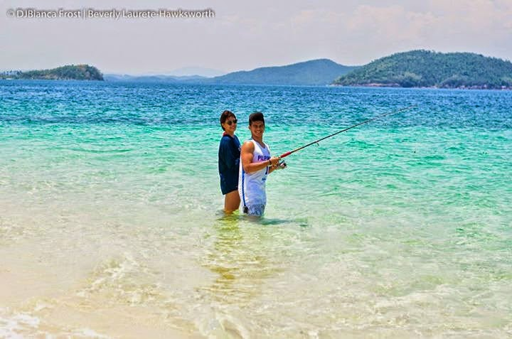mika reyes and kiefer ravena in iloilo beach 02