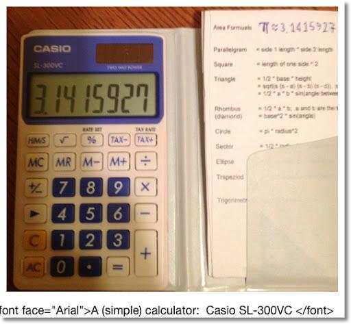 Eddie's Math and Calculator Blog: Calculator Tricks - Part 1