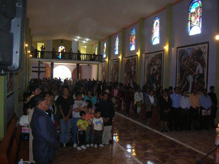 Promoviendo el turismo, fotos del distrito de Sitacocha - Lluchubamba