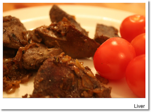 Cooking liver