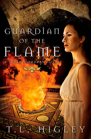 Book Review: Guardian of the Flame (A Seven Wonders Novel), By T.L. Higley Cover Art