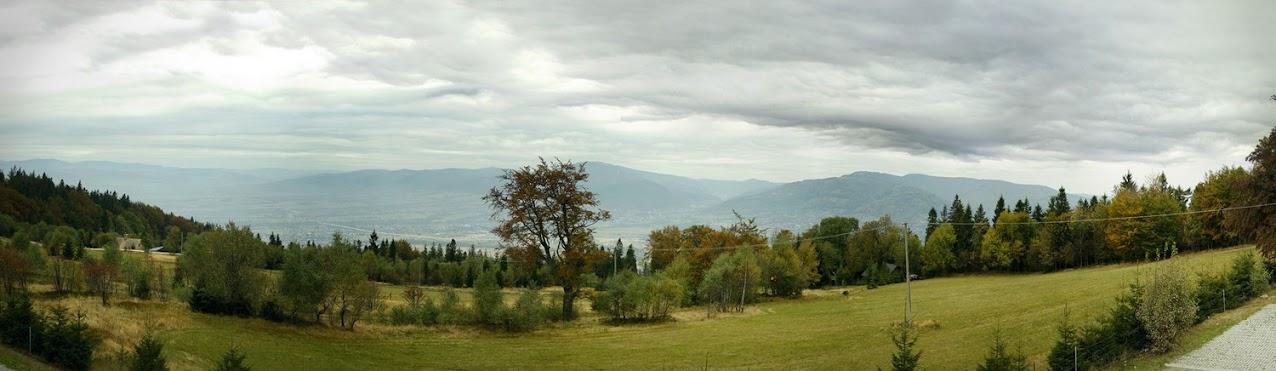 Magurka Wilkowicka - panorama