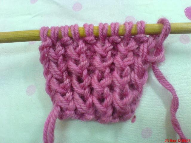 cho mình hỏi cách đan kiểu khăn này DSC03663