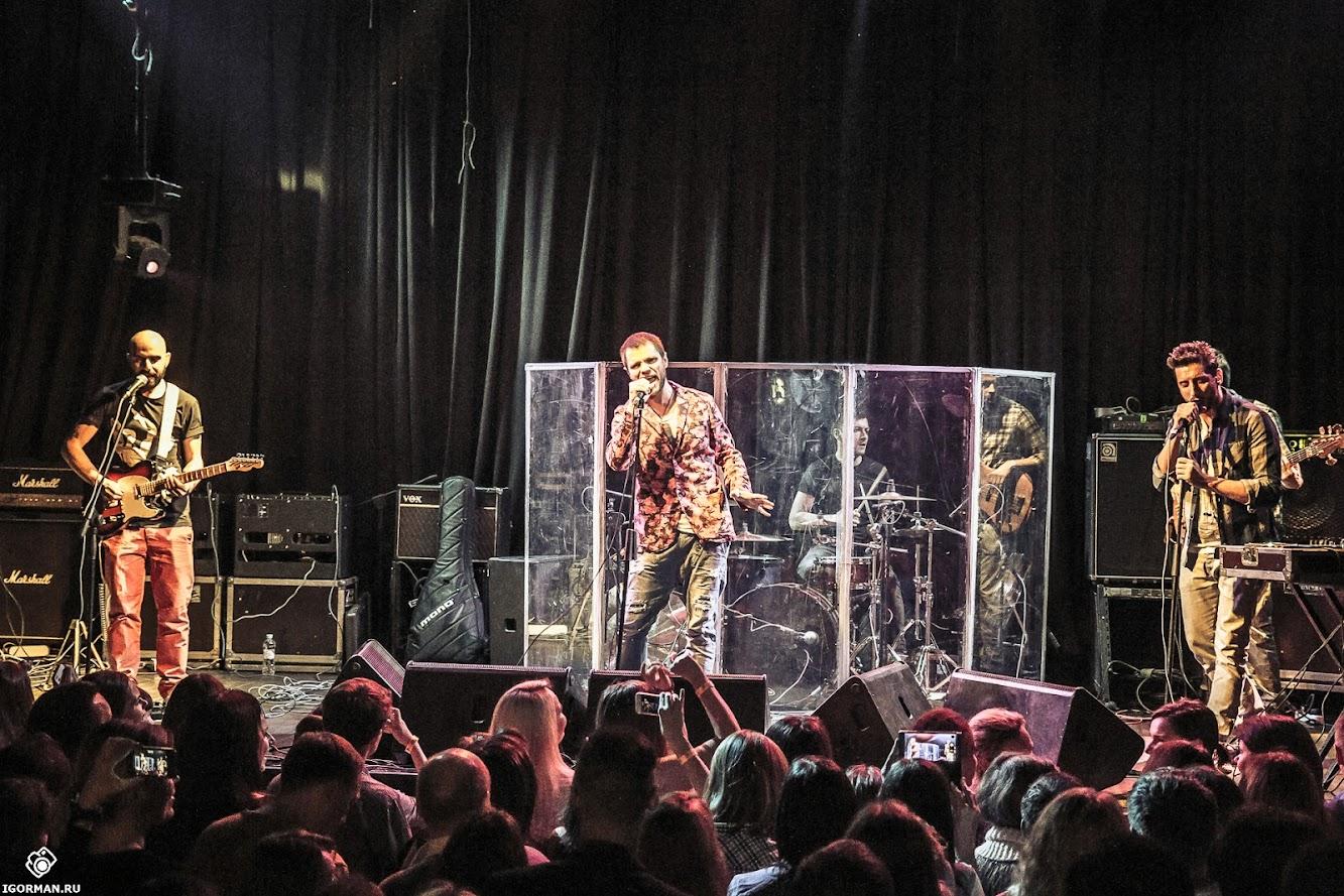 Концерт группы Градусы в клубе Б2, 10.10.2014