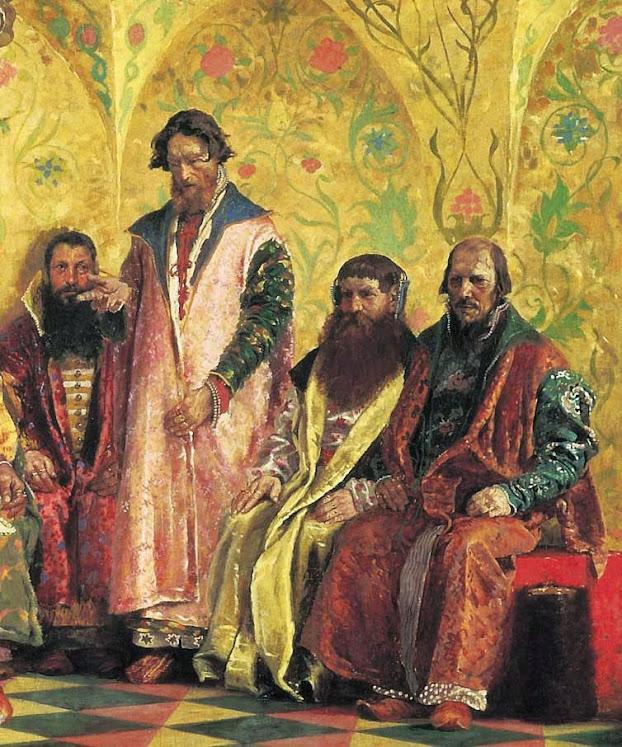 Картина Рябушкина