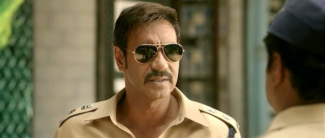 Screen Shot Of Hindi Movie Singham Returns (2014) Download And Watch Online Free at alldownloads4u.com