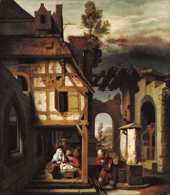 Nicolaes Maes - Adoration of the Shepherds - Google Art Project