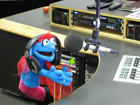 Puppets take over the airwaves...