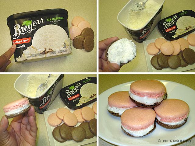 Neapolitan Ice Cream Macarons
