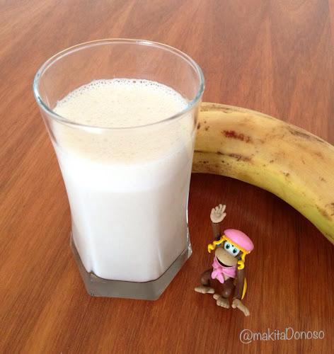 Leche con Plátano