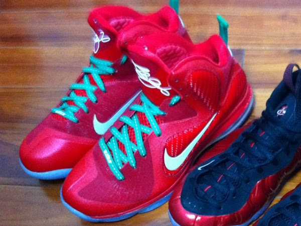 First Look Upcoming Nike LeBron 9 Christmas Exclusive
