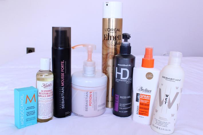 mis cuidados del pelo - my hair products