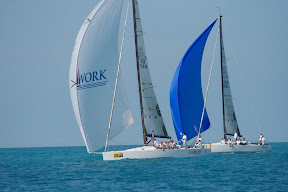 J/122 offshore racer cruiser sailboat- Teamwork sailing Key West