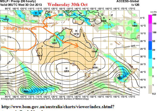 30th oct 2013 rain pilbara