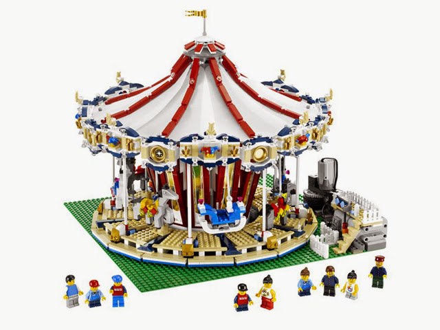 10196 レゴ メリーゴーランド