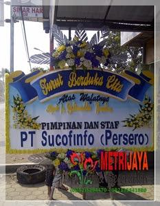 ucapan turut berduka cita dari PT Sucofinfo (Persero)