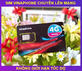 Siêu Sim Vinaphone, Sim lên mạng KHÔNG GIỚI HẠN 4G