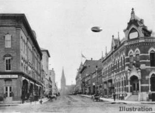 Hometown History Ufo Sighting Never Fully Explained