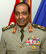 Field Marshal Mohamed Hussein Tantawi, former Chairman of the Supreme Council of the Armed Forces from 11 February 2011 until dismissal on 12 August 2012