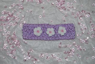 crochet headband κορδελα μαλλια χειροποιητη