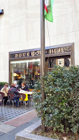 Bouchon Bakery in New York City, right by Rockefeller Plaza