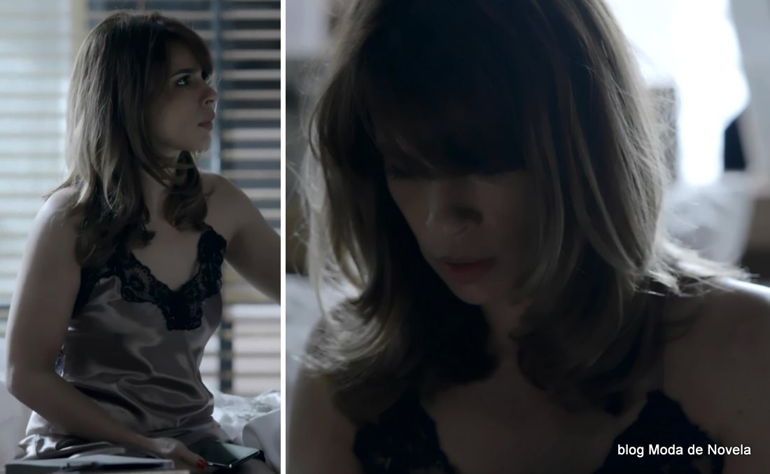 moda da novela Império - looks da Danielle dia 2 de agosto