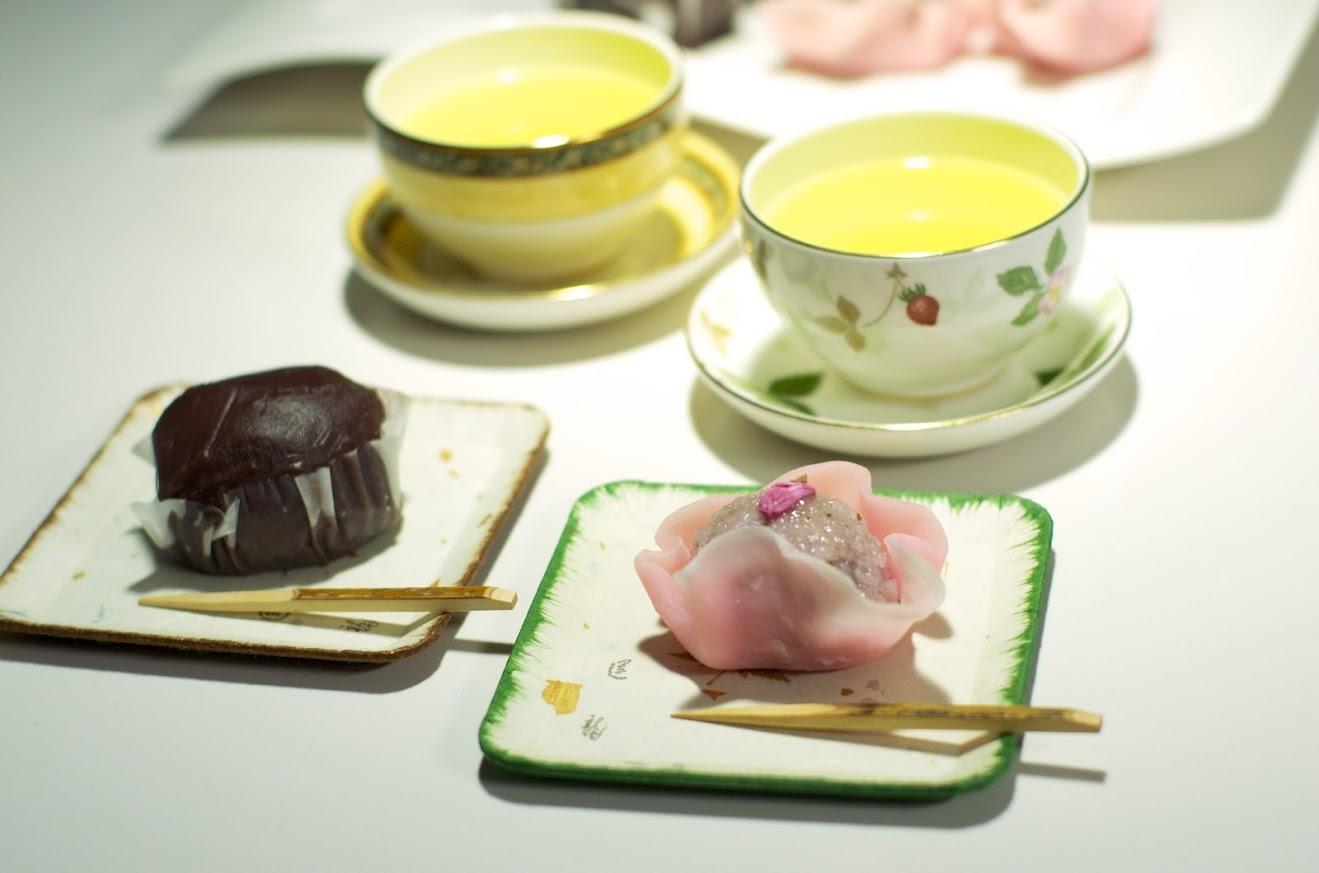 壺屋の「牡丹餅」&「焼皮桜」