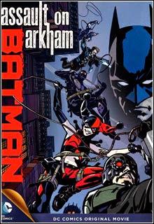 Batman   Assalto em Arkham DVD R Capa