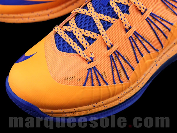 First Look at Nike LeBron X Low 8211 Cavs Hardwood Classic
