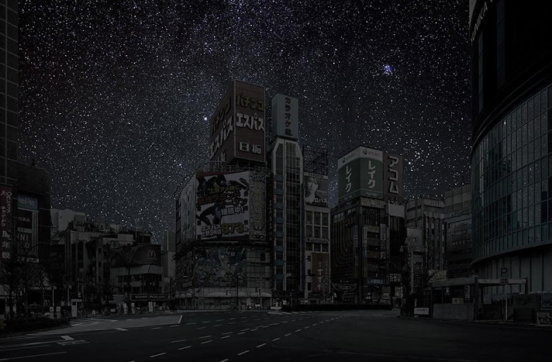 Darkened Cities Thierry Cohen