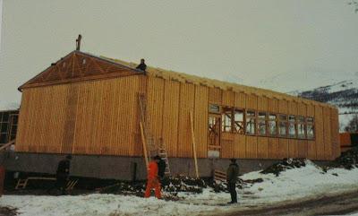 Fra bygging av Ulaheim 1984-1986