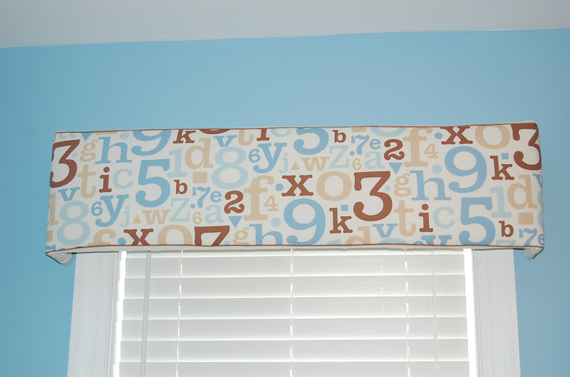 Cornice Boards from Crib Bedding