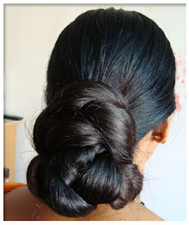 Long Indian Hair Bun