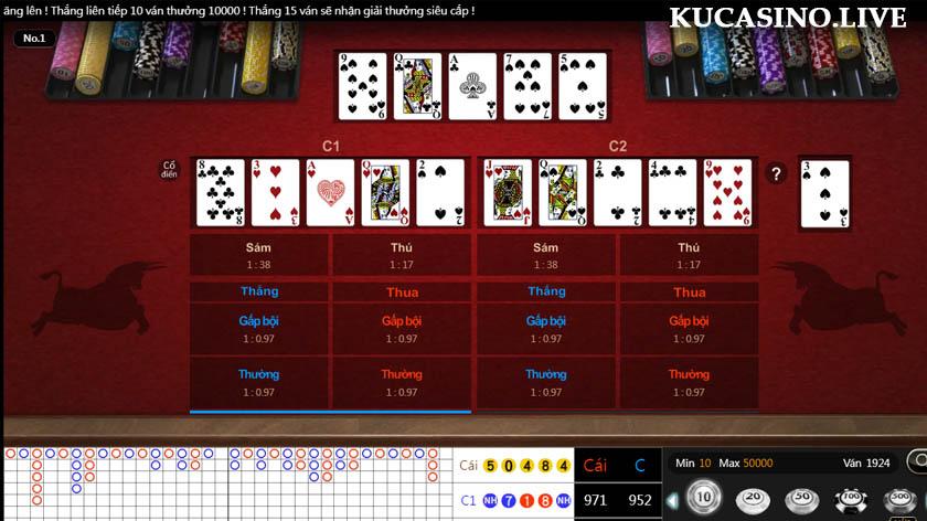 Đánh bài đổi thưởng 2021 game bài hot nhất tại KU Casino