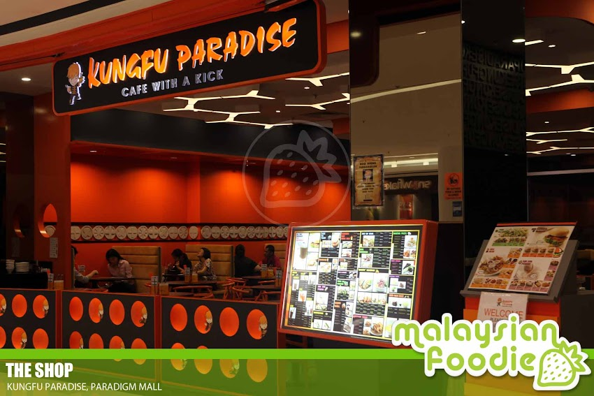 KUNGFU PARADISE, PARADIGM MALL (INVITED REVIEW)