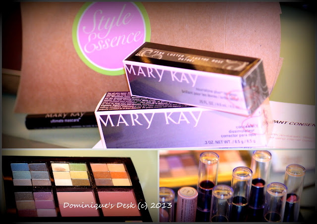 The Mary Kay products that we used