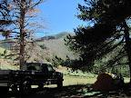 Camp at Wickiup Pass