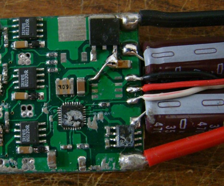 Configração ESC 50A Red Brick sem UBEC 01
