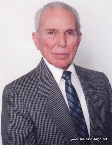 Profr. Daniel Guadiana Ibarra