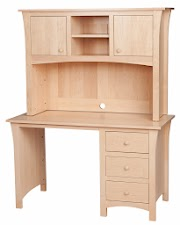Maple Hutch Desks