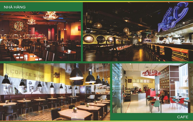 Nhà hàng cafe dự án 79 Ngọc Hồi