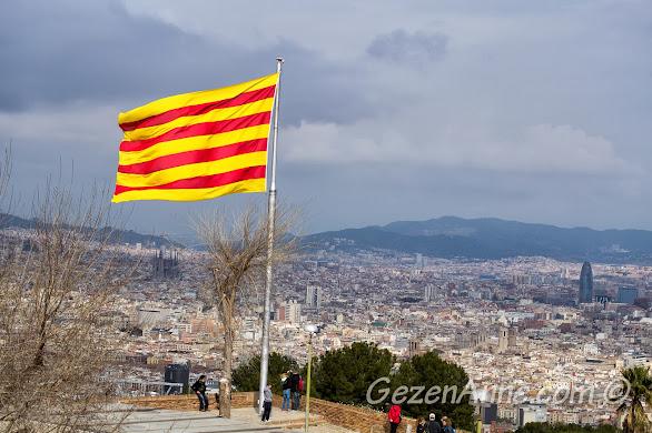 Barcelona manzarası