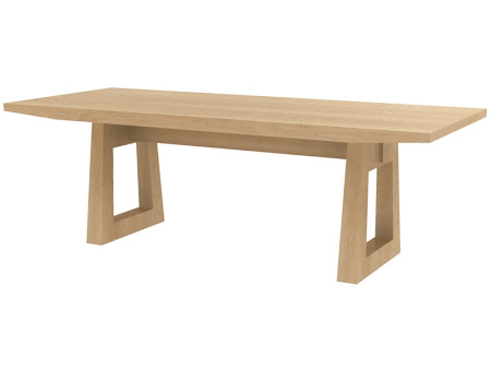 "80"" x 42"" Delton Table in Natural Hard Maple"