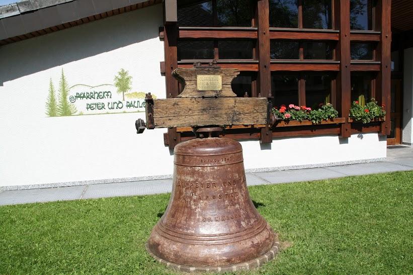 Glocke zum Patrozinium 1989