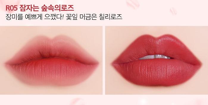 Son Black Rouge Rose Vlevet Lipstick R05