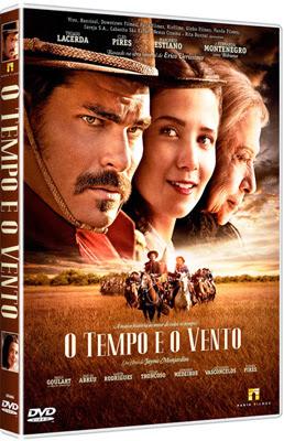 Filme Poster O Tempo e o Vento DVDRip XviD & RMVB Nacional