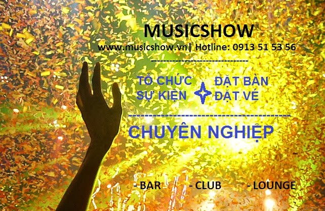 đêm nhạc pháp - musicshow- đặt vé, đặt bàn chuyên nghiệp